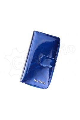 Pierre Cardin 02 LEAF 116 синий кошелёк жен.