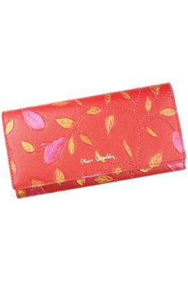 Pierre Cardin 04 PLANT 106 красный кошелёк жен.