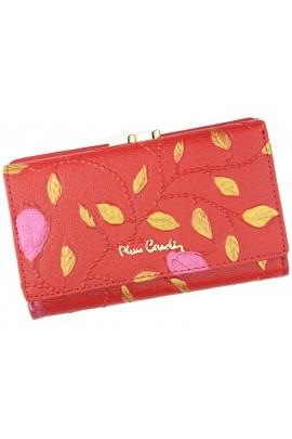 Pierre Cardin 04 PLANT 108 красный кошелёк жен.
