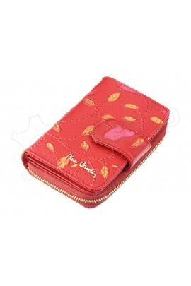 Pierre Cardin 04 PLANT 115 красный кошелёк жен.