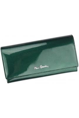 Pierre Cardin 05 LINE 100 зелёный кошелёк жен.