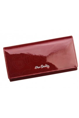 Pierre Cardin 05 LINE 102 красный кошелёк жен.