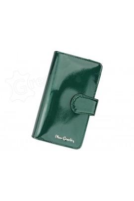 Pierre Cardin 05 LINE 116 зелёный кошелёк жен.