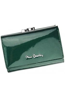 Pierre Cardin 05 LINE 117 зелёный кошелёк жен.