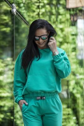 Блуза P-690 зелёный