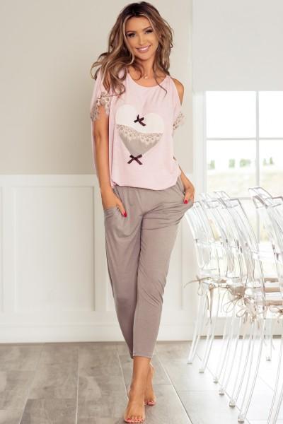 Пижама PIGEON P-577/2 розовый