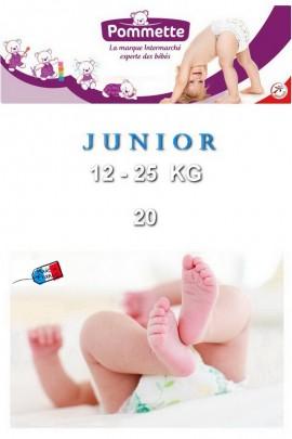 Подгузники Pommette PMT-JUNIOR 12-25 кг - 20 шт/уп