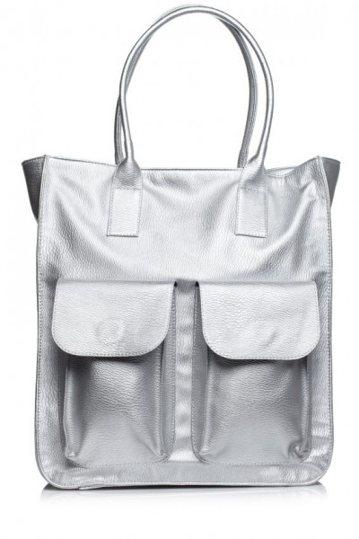 Сумка Style Bags SB319 серебро (модель 2)
