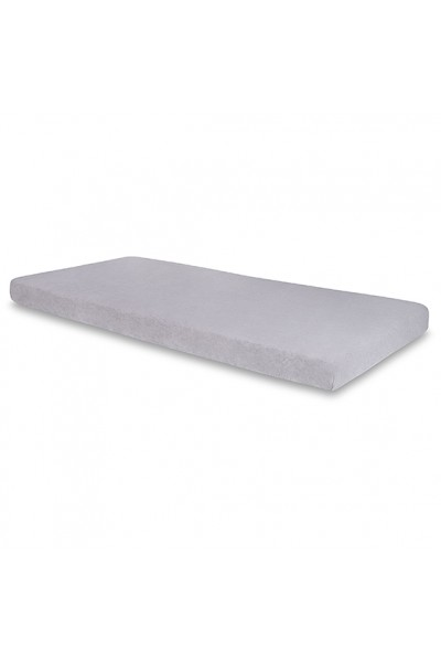 Простыня Senlandia FROTTE на резинке 200х220 серый
