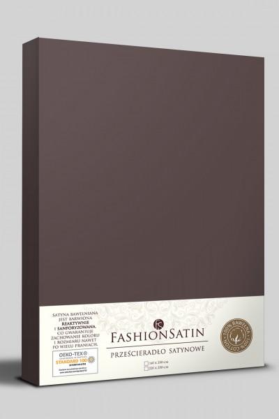 Простыня Senlandia SATIN 200х220 какао