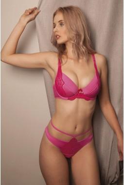 Бюстгальтер UNIKAT DEBBIE розовый push-up