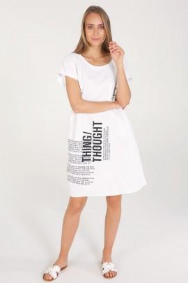 Платье Unisono 169-6837 BIANCO