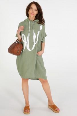 Платье Unisono 223-6700 MILITAR