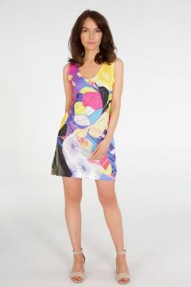 Платье Unisono 225-9300D MULTI