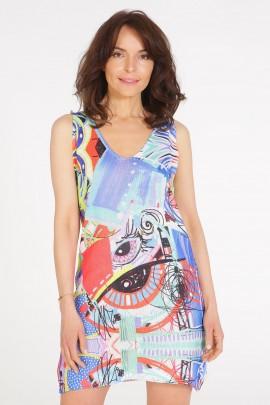 Платье Unisono 225-9300E MULTI