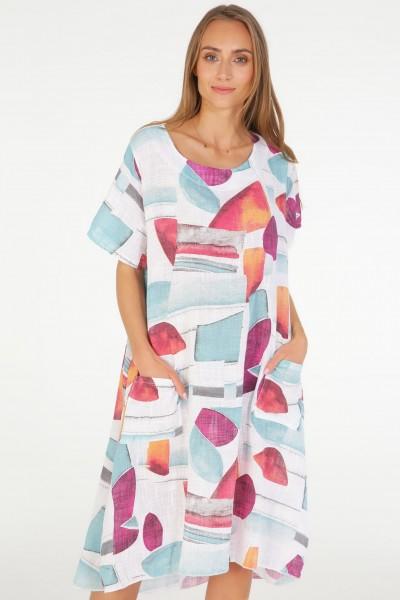 Платье Unisono 232-9057 BIANCO