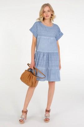Платье Unisono 245-8122 JEANS