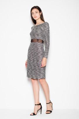 Платье VENATON VT068 серый