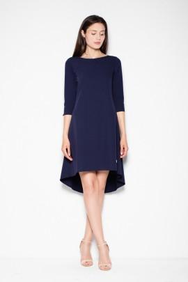 Платье VENATON VT073 тёмно-синий
