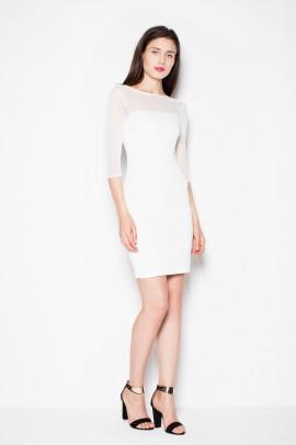 Платье VENATON VT081 экрю