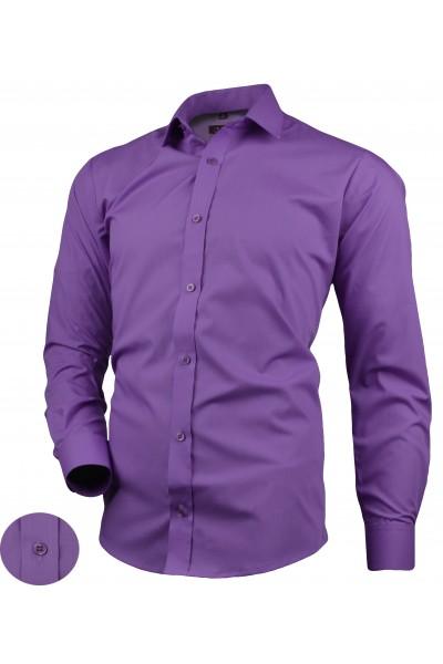 Рубашка VICTORIO Desire 015 Slim фиолет
