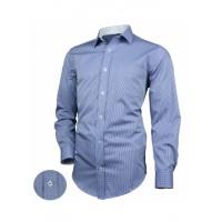 Рубашка Victorio Desire 024 SLIM клетка без кармана