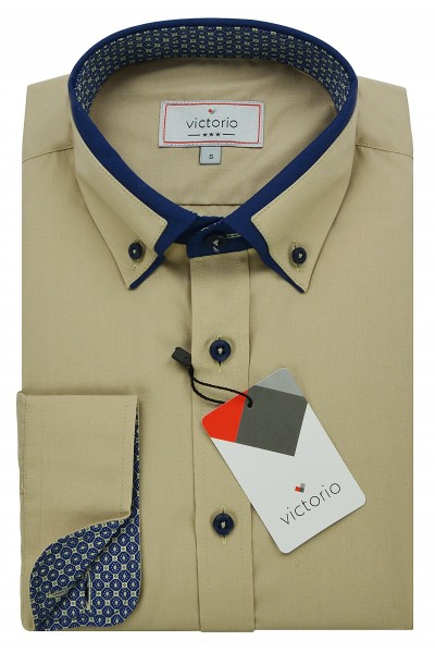 Рубашка VICTORIO Casual V092 SLIM