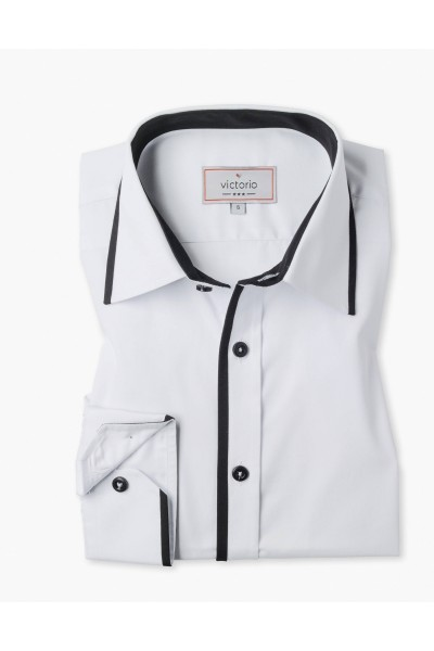 Рубашка VICTORIO V113 SLIM длинный рукав