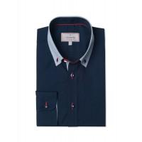 Рубашка VICTORIO V169 REGULAR тёмно-синий
