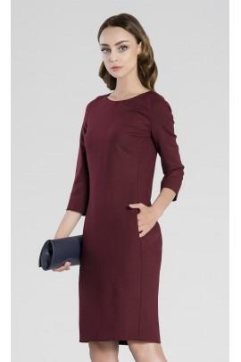 Бордовое Платье ZAPS SELECT Sel215018 Цвет 011