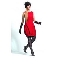Платье-бомбка ZAPS Syntia шерстяное Цвет 002