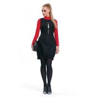 Платье-бомбка ZAPS Syntia шерстяное Цвет 004