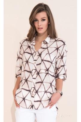 Рубашка ZAPS Amara 17 цвет 020 вискоза