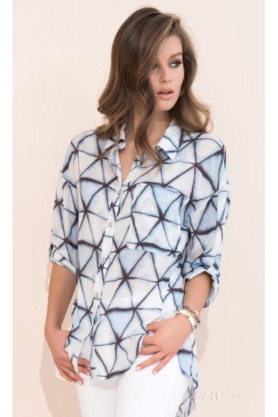 Рубашка ZAPS Amara 17 цвет 046 вискоза