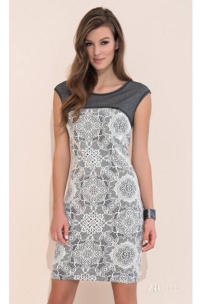Платье ZAPS PAULINA 17 цвет 022 вискоза