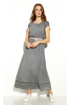 Платье ZAPS LEMPI 2020 цв-051 ХАКИ