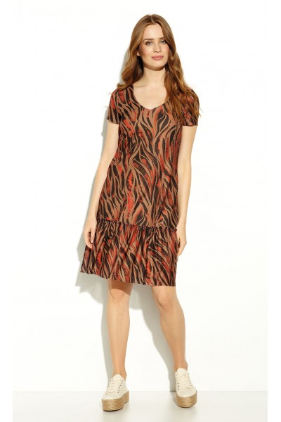 Платье ZAPS RASHA 2020 цвет 043 MCK
