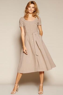 Платье ZAPS GOTA цвет 003 льняное