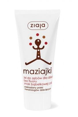 Maziajki зубная паста д/детей 6+ без фтора 50ml