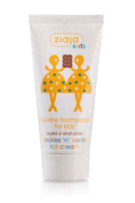 Maziajki зубная паста д/детей 6+ с фтором 50ml