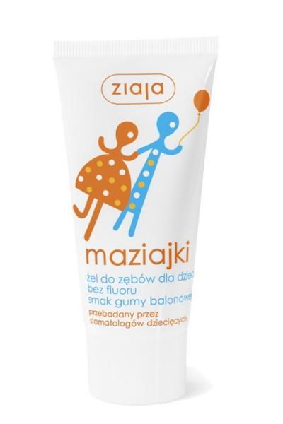Maziajki гель для зубов и дёсен 50ml