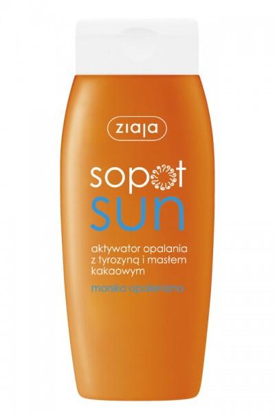 Активатор загара с тирозином SOPOT SUN - 150ml
