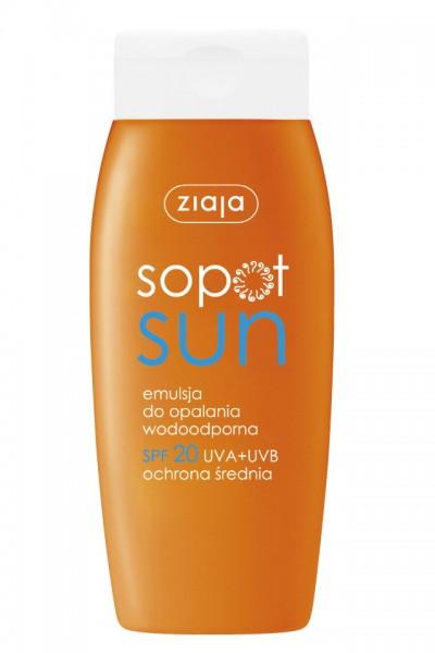 Эмульсия д/загара SOPOT SUN SPF20 - 150ml