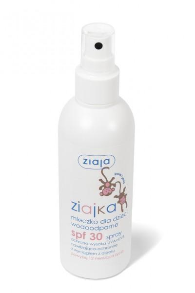 Ziajka спрей-молочко SPF-30 д/детей 170ml