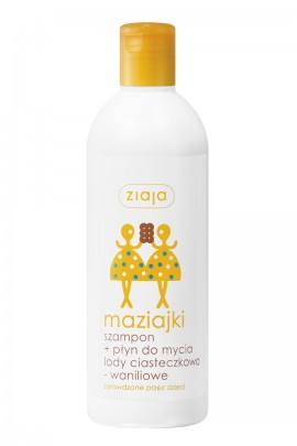 Maziajki детский шампунь-гель д/купания 400ml