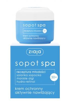 Защитный крем с активным увлажнением SOPOT SPA 50ml