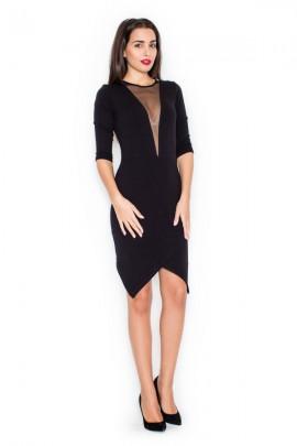 Платье KATRUS K320 чёрный