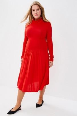 Платье BEYOU B032 красный