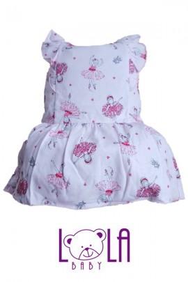 Платье LOLA Baletnica розовый хлопок